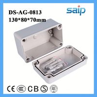 plastic box enclosure electronic hair extension packaging box