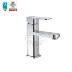 brass chrome modern Single Handle Bathroom Tap