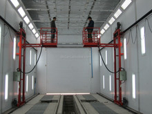 Good feedback bus painting room spray booth paint booth bake oven auto spraying oven with 3D lift