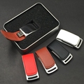 Hotsale new design luxury leather usb, free embossed logo leather usb flash, hot promotion leather usb stick
