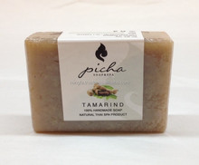 Handmade tamarind soap from Thailand for wholesale cheap by Thai factory