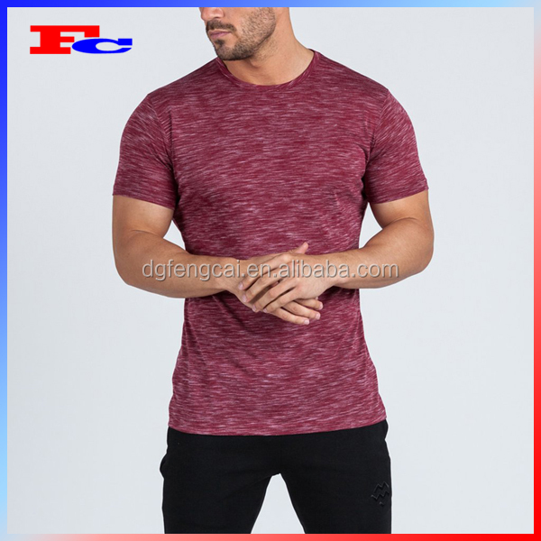 Trade Assurance Bodybuilding Dry Fit Sports Shirts Custom Men's Workout Gym Wear Wholesale