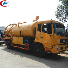 Large capacity Dongfeng 4x2 14cbm clean and sewage truck