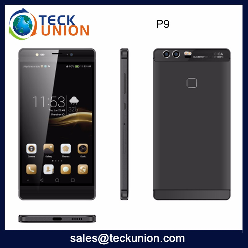 P9 High Configuration Android Smart Phone Mobile 5.5Inch Hot Sale 3G Cellular Handphone From China