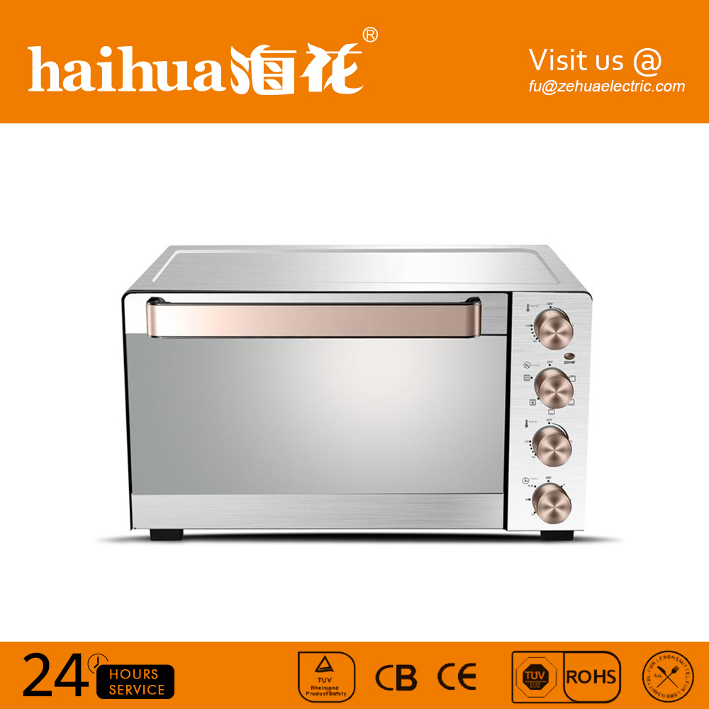 High quality long customizable pizzaduration time oven 55l