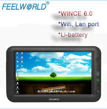 FEELWORLD 7 inch mini pc win ce 6.0 with touch,wifi,lan port for printer and barcode reader,industrial application