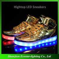 2016 top sale led shoes,factory price led flashing shoes