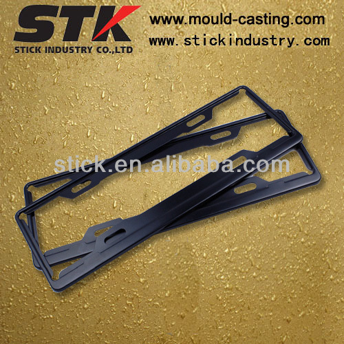 Zinc License Frame (die casting)