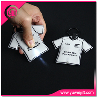 Custom Promotional ABS tire LED Key chain car parts l Keychains/tire key holder