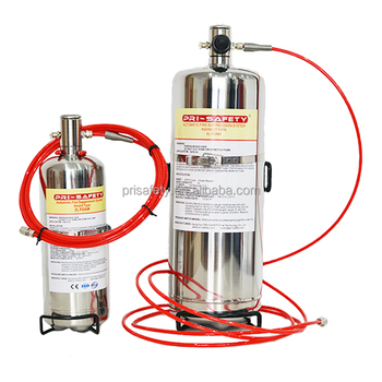 CE Approval Automatic Fire Suppression System FM200 Fire Extinguisher