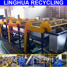 china famous brand pet washing and crushing line