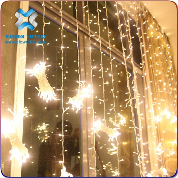 halloween high quality led decorative lights curtain light,led star curtain