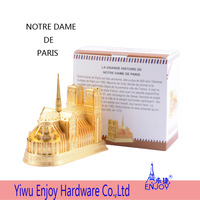 Multi-colored PARIS SOUVENIR NOTRE DAME DE PARIS promotion gift