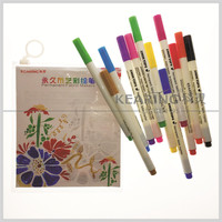 Kearing Fabric Marker with Permanent Colorful inks for DIY drawing on Clothes & Shoes