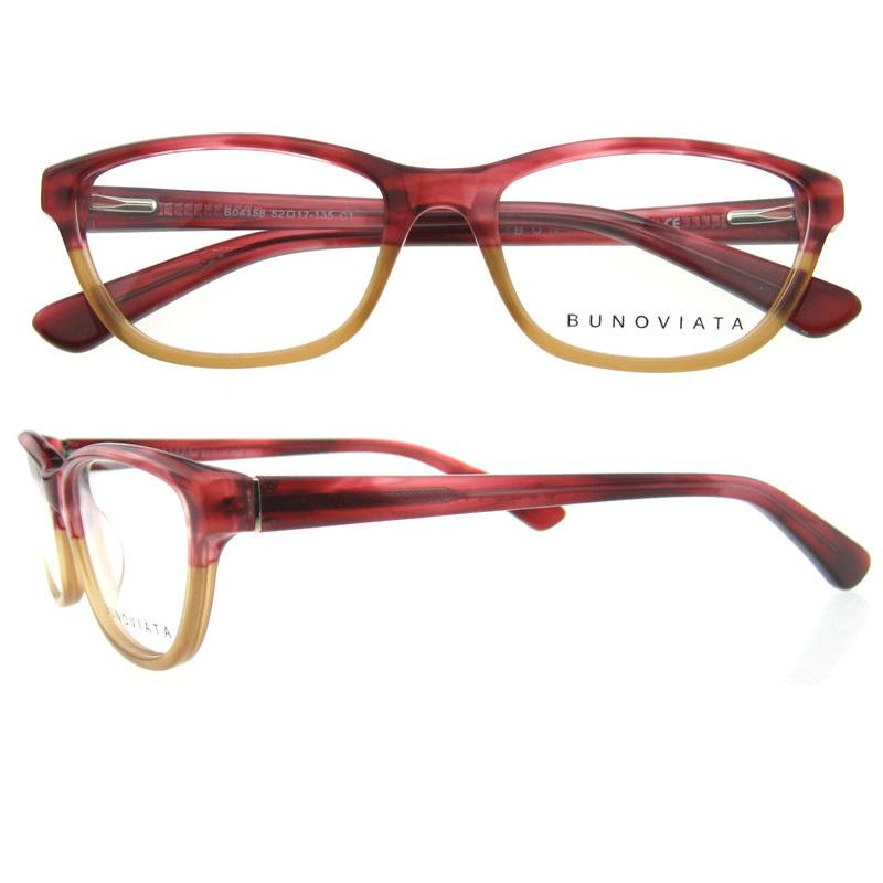 New Trend Flexible Armacao De Oculos De Grau Feminino Acetate Eye ...