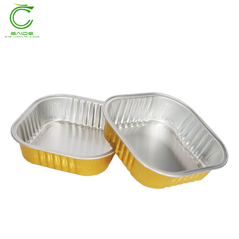 Food container disposable aluminum foil bowl for wholesales