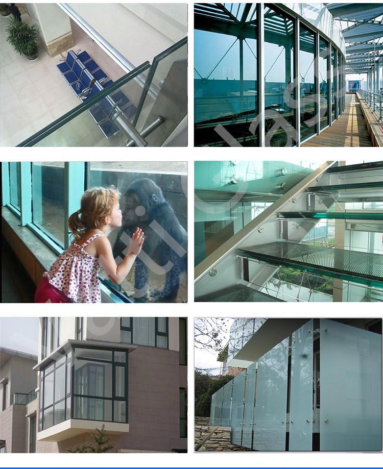 8 мм 10 мм 12 мм закаленное стекло с аппаратным балконные - .