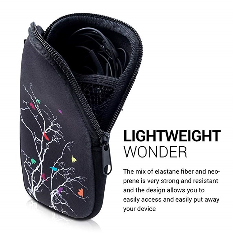 Water Resistant Funny Neoprene Mobile Phone Carry Bag/Case/ Cover/Pouch
