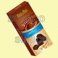 Mark&Milk Milk Chocolate With Cashew Nuts 75Gr*72 Packs