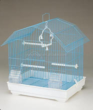 new product small blue wire mesh birds breeding cages for budgies 4108A