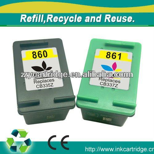 Provide good quality ink cartridge for Hp 860/861