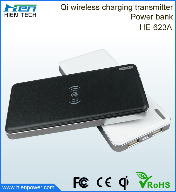 Best selling portable 10000mah wireless power bank charger for samsung galaxy note 3