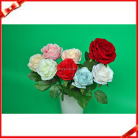 cheap artificial flower white rose