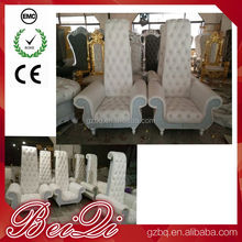 Wholesale King Queen Chairs Used Nail Salon Foot Spa Pedicure Chair Manufacturing Beautiful Throne Chairs for Sale