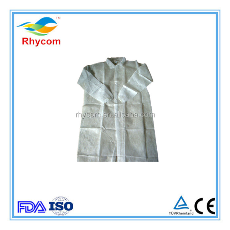 Cheap disposable kids lab coat designs