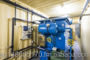 Containerised ECO DAF-5000 Dissolved Air Flotation Water Treatment Plant