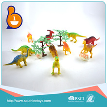 2018 China lowest price animal toys plastic dinosaurs for wholesale