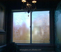 bathroom window decoration glass