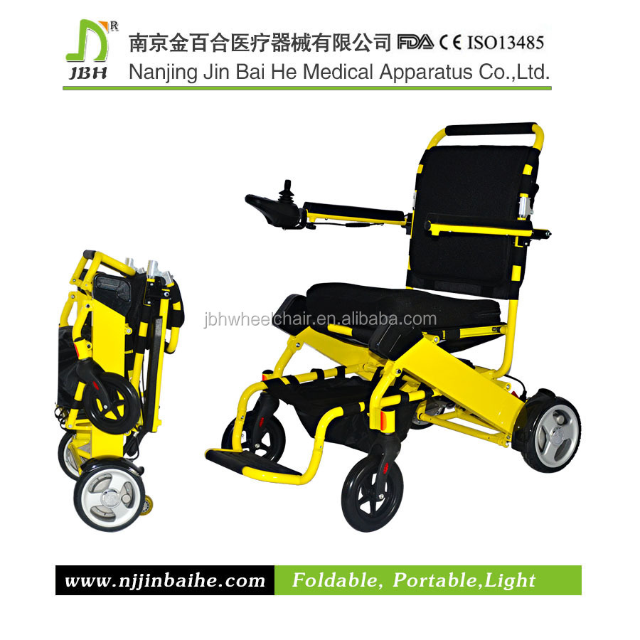 Light Weight Folding Portable Electric Wheelchair Used