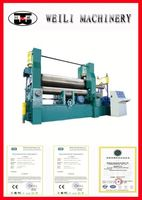 Top Quality CNC Machinery 3 rolls small sheet roller bending machine