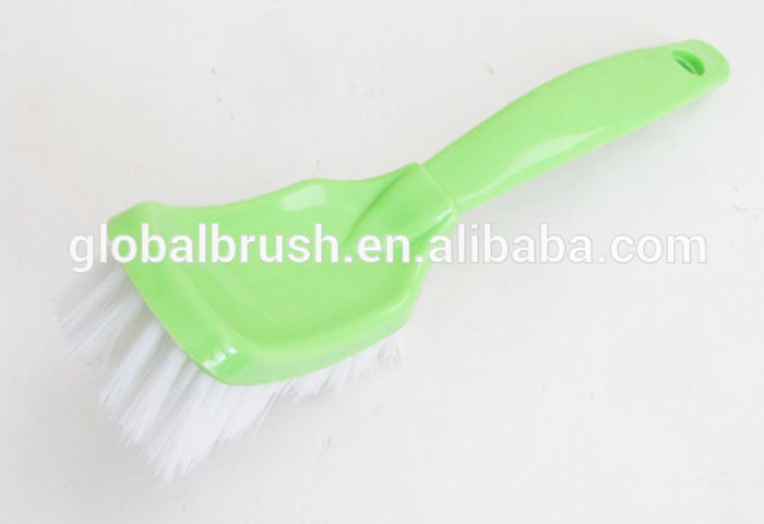 HQ2606 color cleaning long handle bathtub brush PP kitchen washing brush