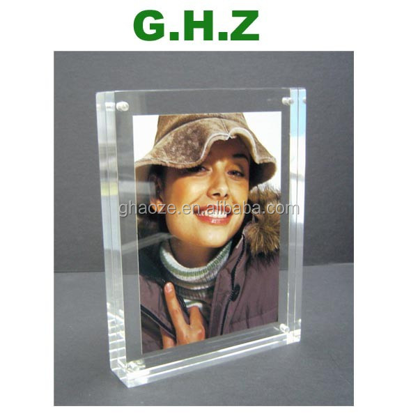 Custom Acrylic Magnetic Photo Frame Factory