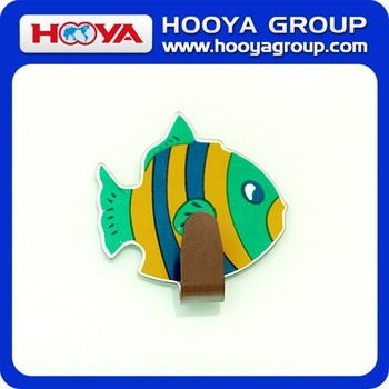 5.5*6cm Fish Magnetic Hook/Cartoon Adhesive Hook/Stainless Steel Hook