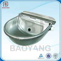 automatic rectangular stainless steel water trough
