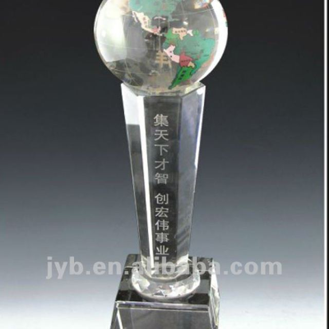 Crystal Plaque Award In Stock