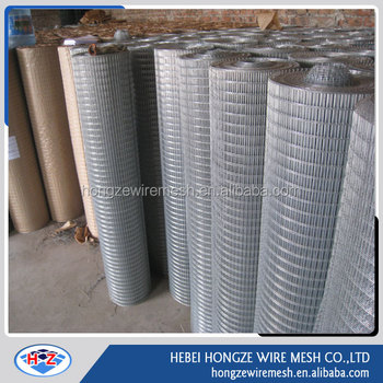 g.i.welded iron wire mesh 50x50 specifications