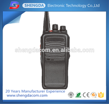 Ergonomic design and reliable quality 8W handheld radio walkie talkie outdoor transceiver
