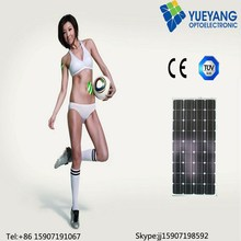 100W high output amorphous silicon thin film laminated solar panel, solar cell, solar module