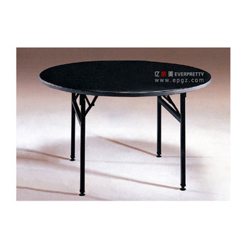 Korean Design Cheap Banquet Tables, Wooden Used Round Banquet Tables For  Sale