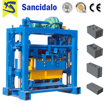 Factory Supplier QT40-2 small scale industries hollow block machines with A Discount
