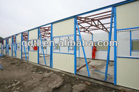 prefabricated sandwich panel makeshift housing