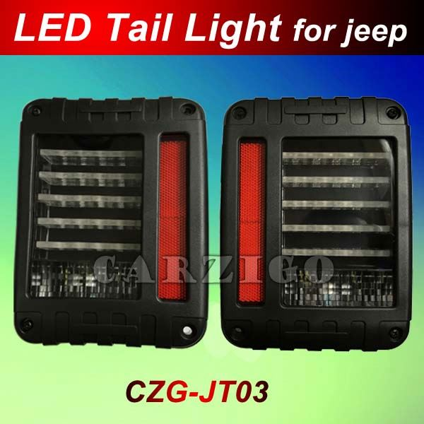 Best quality high intensity prompt delivery time Customized accepted jeep wrangler taillight