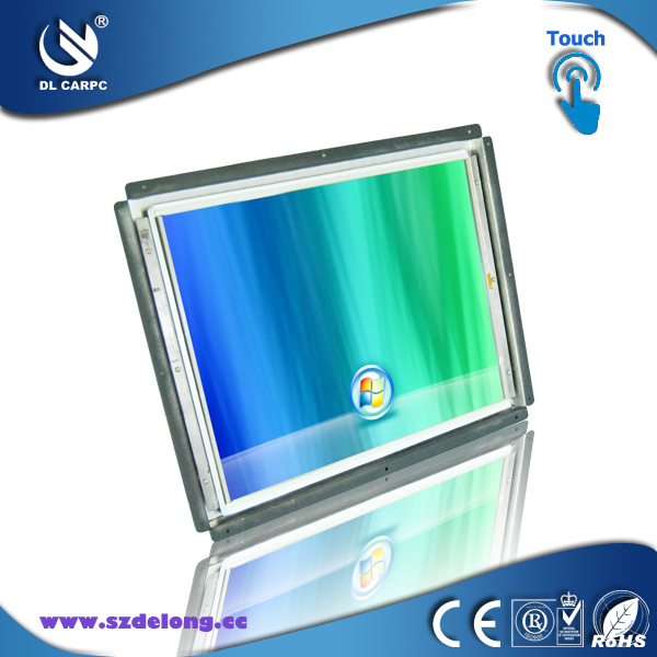 2013 Newest Design Iron Case 10.4 Inch TFT LCD Digital Panel Open Frame Touch Screen Monitor