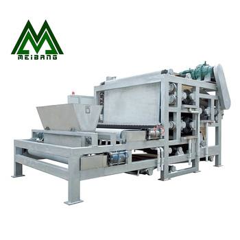 Hot Sale Factory Price Cow Dung Vegetable Filter Press Dewatering Machine