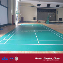 Low-cost,high quality synthetic badminton court flooring