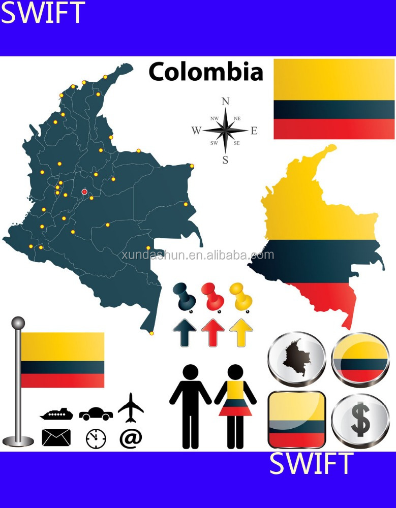 UPS/Fedex/DHL courier from China to Bogota Colombia -----Skype ID : cenazhai